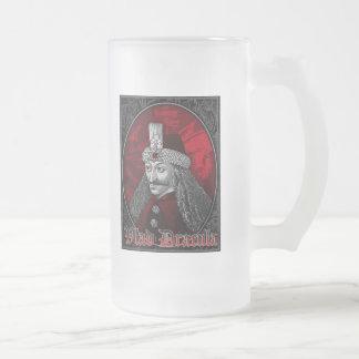 Vlad Dracula gotisch Mattglas Bierglas