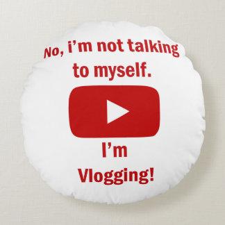 vlogging Kissen