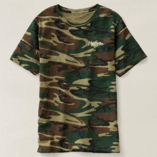 VlogSeption Marken-Camouflage-Art-T-Stück T-shirt