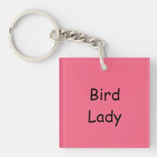 Vogel-Dame Schlüsselkette, UVbeständiges Schlüsselanhänger