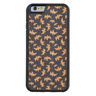 Vögel, die Muster-Entwurf zeichnen Bumper iPhone 6 Hülle Kirsche