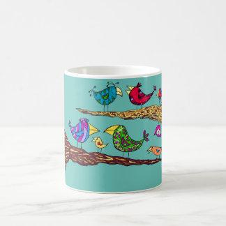 Vogel-Gesprächs-Tasse Tasse