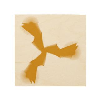 Vogel Holzleinwand