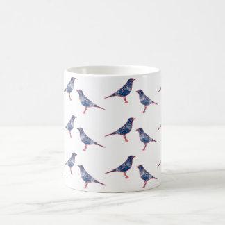 Vögel Kaffeetasse