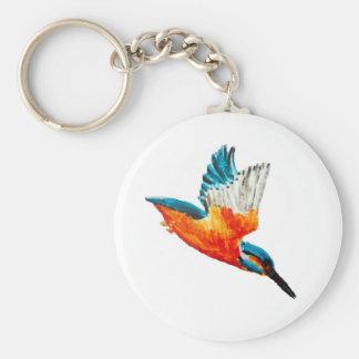 Vogel-Malerei-Fliegen-Eisvogel Schlüsselanhänger