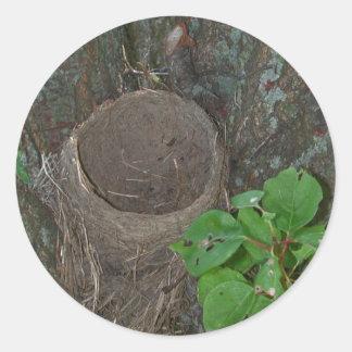 Vogel-Nest-Aufkleber