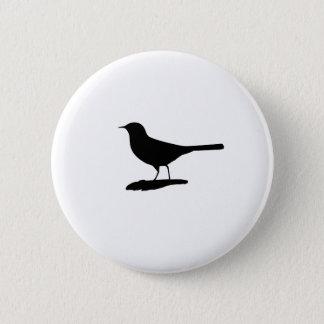 Vogel Runder Button 5,1 Cm