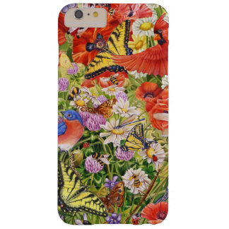 Vögel, Schmetterling iPhone 6/6S plus kaum dort Barely There iPhone 6 Plus Hülle
