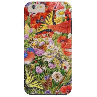 Vögel, Schmetterlinge iPhone 6/6S plus Touch-Fall Tough iPhone 6 Plus Hülle
