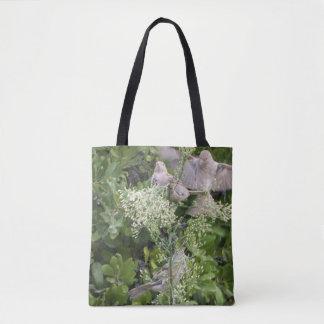 Vögel u. Pflanzen Tasche