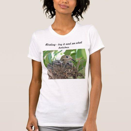 Vogelbeobachtung natch. T-Shirt