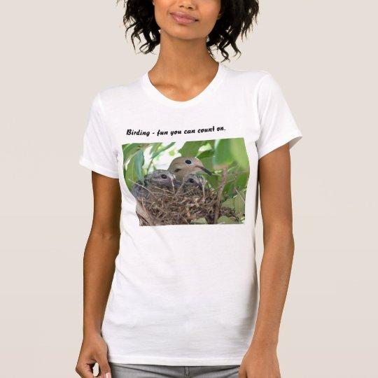 Vogelbeobachtungspaß T-Shirt