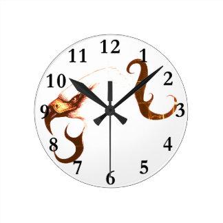 Vogelkunst-Uhradler Runde Wanduhr