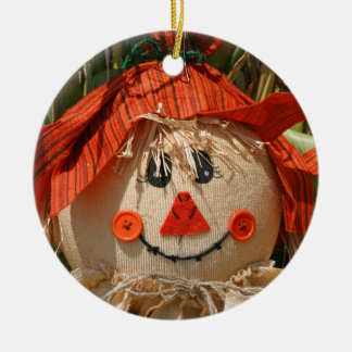 Vogelscheuche Keramik Ornament