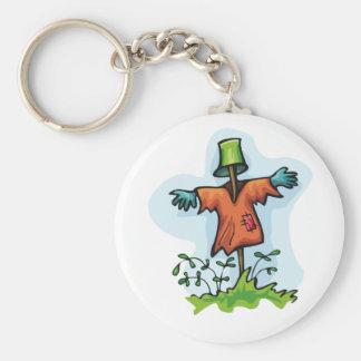 Vogelscheuche Keychain Schlüsselanhänger