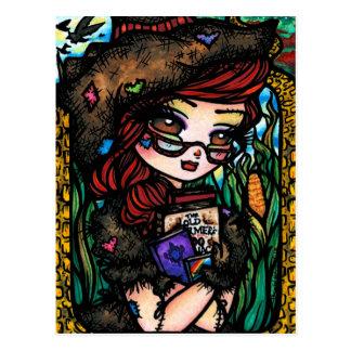 Vogelscheuche-Postkarte Postkarte