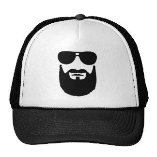 Volle Bart-Sonnenbrille Retrokult Cap