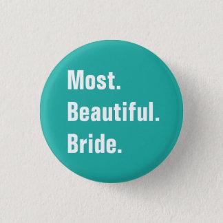 Volle kundengerechte Hochzeits-Knöpfe Runder Button 3,2 Cm