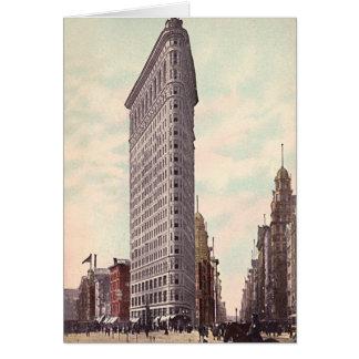 Volleres Gebäude New York City das Flatiron Karte