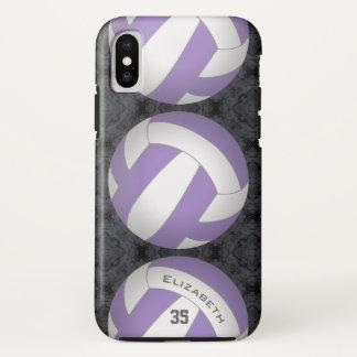 Volleyball der kundenspezifischen Farbder iPhone X Hülle