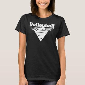 Volleyball-Dreieck-Schild T-Shirt