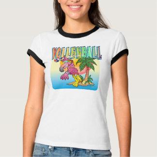 Volleyball-Flamingo-Shirt T-Shirt