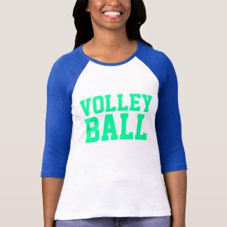Volleyball gestapelt T-Shirt