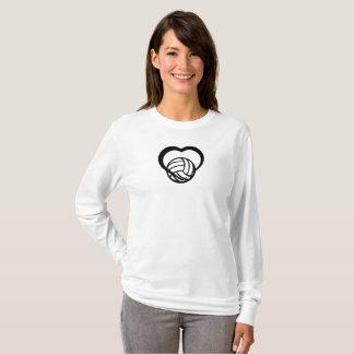 Volleyball-Herz T-Shirt