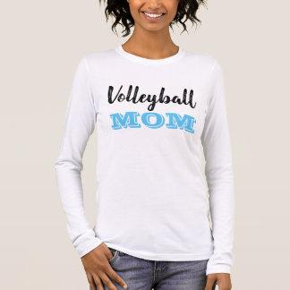 Volleyball-Mamma-langer Hülsen-T - Shirt -