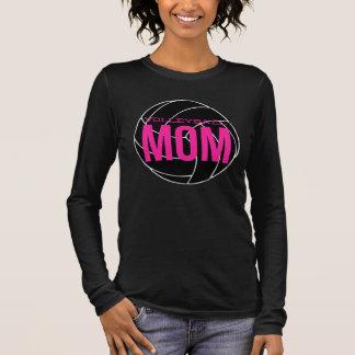 Volleyball-Mamma-langer Hülsen-T - Shirt - Girly
