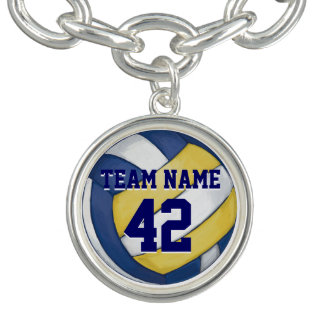 Volleyball-Team-Name und Zahl Armband