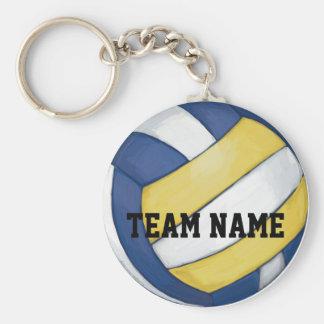 Volleyball-Team-Name und Zahl Schlüsselanhänger