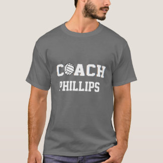Volleyball-Trainer - personalisiert T-Shirt