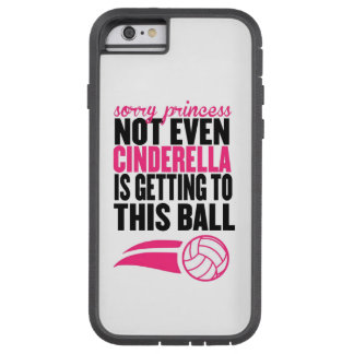 Volleyball: Traurige Prinzessin Ball Tough Xtreme iPhone 6 Hülle