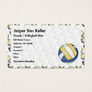 Volleyball-Visitenkarte Visitenkarte