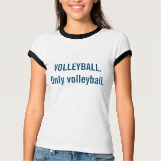 Volleyball-Wecker-T-Stück T-Shirt