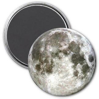 Vollmond-Kühlschrank Runder Magnet 7,6 Cm