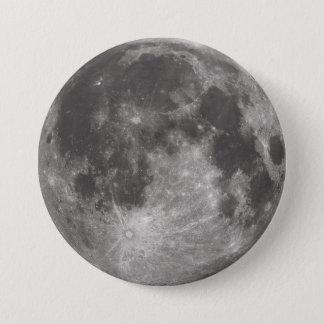 Vollmond Runder Button 7,6 Cm