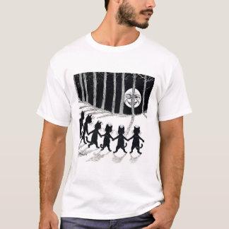Vollmond und Katzen, Louis Wain T-Shirt