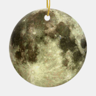 Vollmond-Weihnachten Keramik Ornament