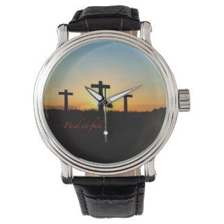Vollständig gezahlt… armbanduhr
