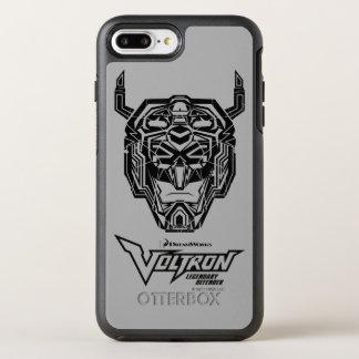 Voltron | Voltron Kopf zerbrochene Kontur OtterBox Symmetry iPhone 8 Plus/7 Plus Hülle