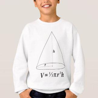 Volumen eines Kegels Sweatshirt