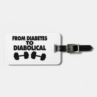 Vom Diabetes zu diabolischem Kofferanhänger