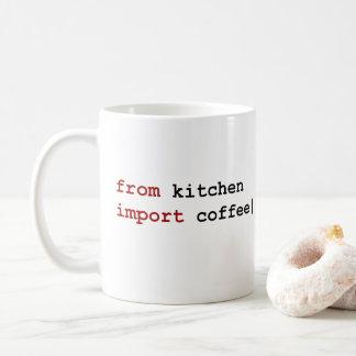 vom Küchenimportkaffee - Pythonschlange-Tasse Tasse