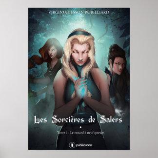 Von Band 1 der Hexen von Salers einzurahmendes Poster