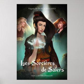 Von Band 2 der Hexen von Salers einzurahmendes Poster