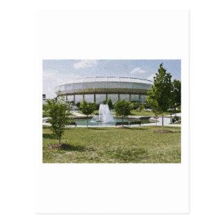 Von Braun Center Postkarte
