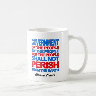 Von den Leuten Kaffeetasse