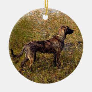 Von der Hundegewohnheits-Verzierung Keramik Ornament